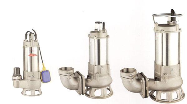 WQP型全不锈gangqian水pai污泵