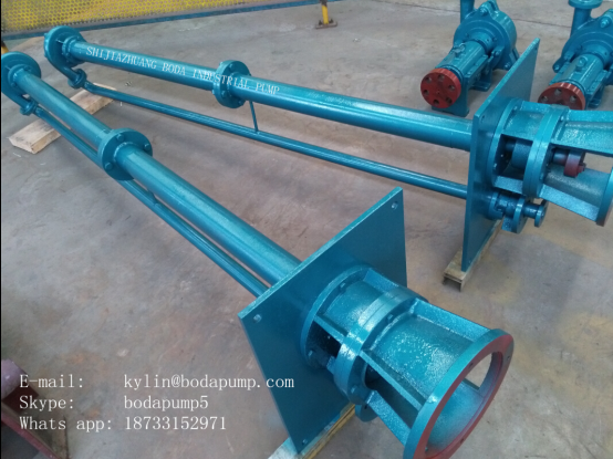 Long Axis Submerged Pump