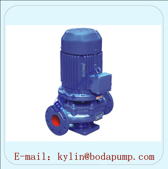ISG Series Vertical Piping Centrifugal Pumps
